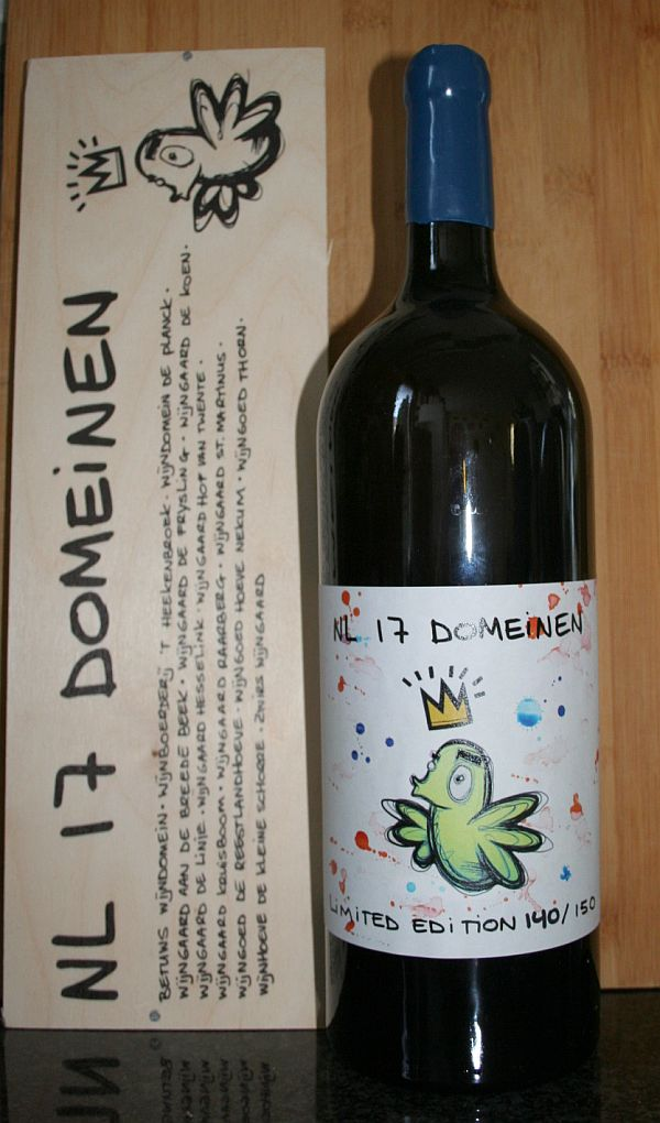 NL 17 Domeinen is een Nederlandse witte wijn voor het goede doel van het KWF