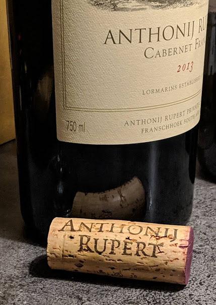 Anthonij Rupert Cabernet Franc, een Grand Cru uit Zuid-Afrika