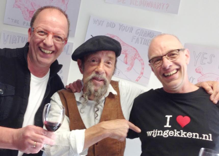 Ilja Gort en de mannen van wijngekken.nl