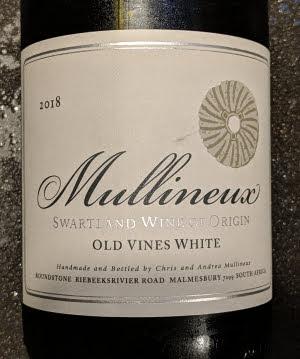 Mullineux, een witte wijn van oude druivenstokken