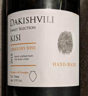 Dakishvili Family Selection van de Georgische Kisi druif