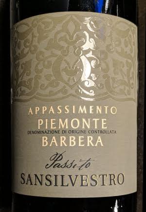 San Silvestro Barbera Appassimento, Piemonte, rode wijn uit 2018
