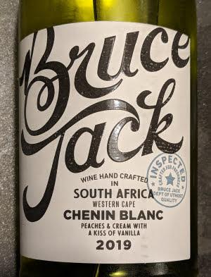 Bruce Jack, een Chenin Blanc in een modern jasje