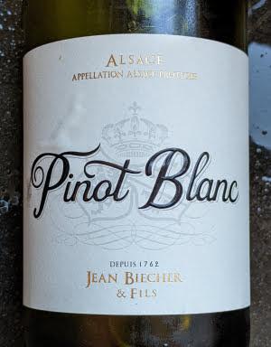 Jean Biecher Pinot Blanc, een witte wijn van Dirck III