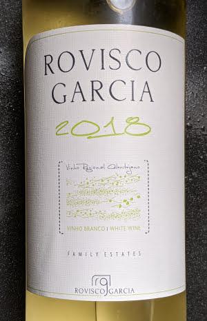Rovisco Garcia, een witte wijn uit Alentejo