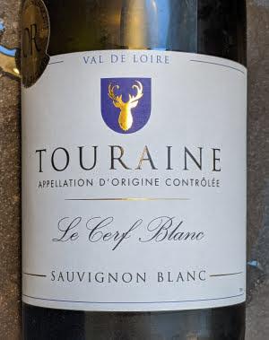 Le Cerf Blanc, een Sauvignon Blanc uit Touraine