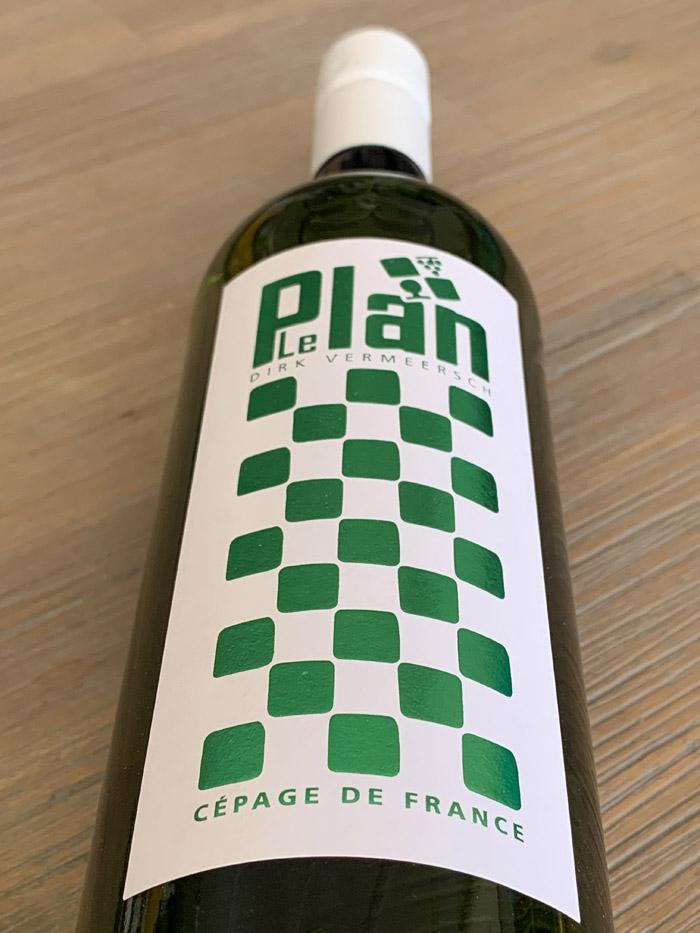 LePlan Vermeersch GP-Chardonnay 2019; instapwijn voor alledag