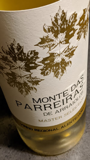 Monte das Parreiras de Arraiolos Master Selection, een witte wijn uit Alentejo