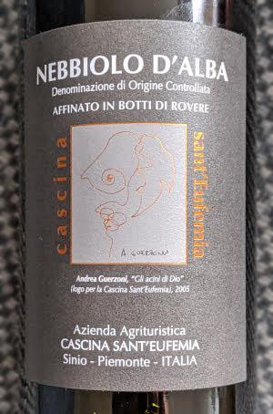 Sant'Eufemia Nebbiolo d'Alba, een traditionele Italiaanse rode wijn