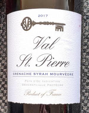 Val St. Pierre een gulle GSM wijn uit de Pays d'Oc