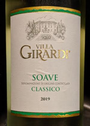 Villa Girardi Soave Classico, een klassieke Soave