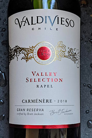 Valdivieso Carmenère Valley Selection uit Rapel Chili