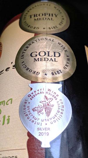 Koop een medaille wijn, dan heb je een goede wijn