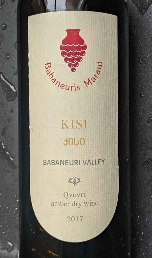 Babaneuris Marani Kisi, een geweldige orange wine