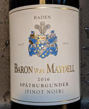 Baron von Maydell