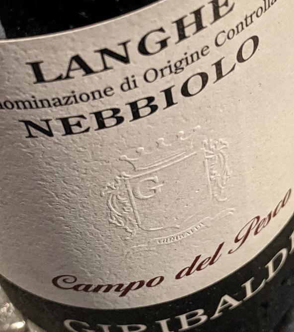 Campo del Pesco heeft een Nebbiolo uit Langhe. Het wijnhuis Giribaldi heeft meerdere wijnen en de Nebbiolo is een van de topwijnen.