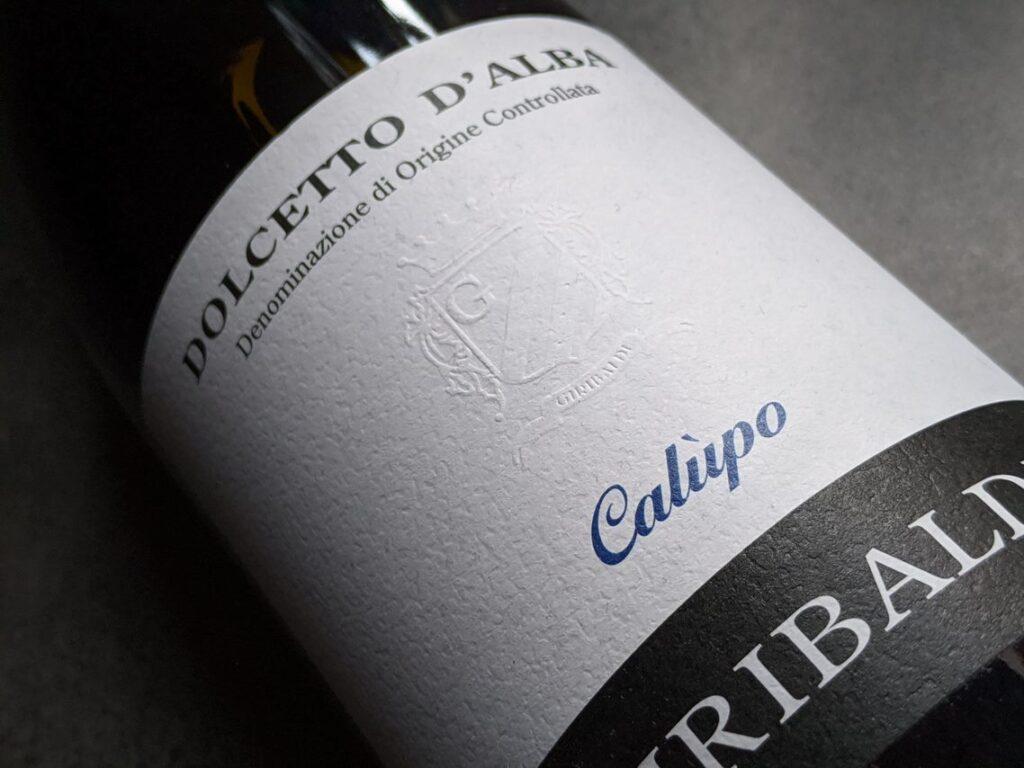 Dolcetto d'Alba van Giribaldi, betaalbare en lekkere rode wijn uit Piemonte