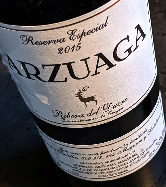 Arzuaga Reserva Especial behoort tot de absolute top van Spanje