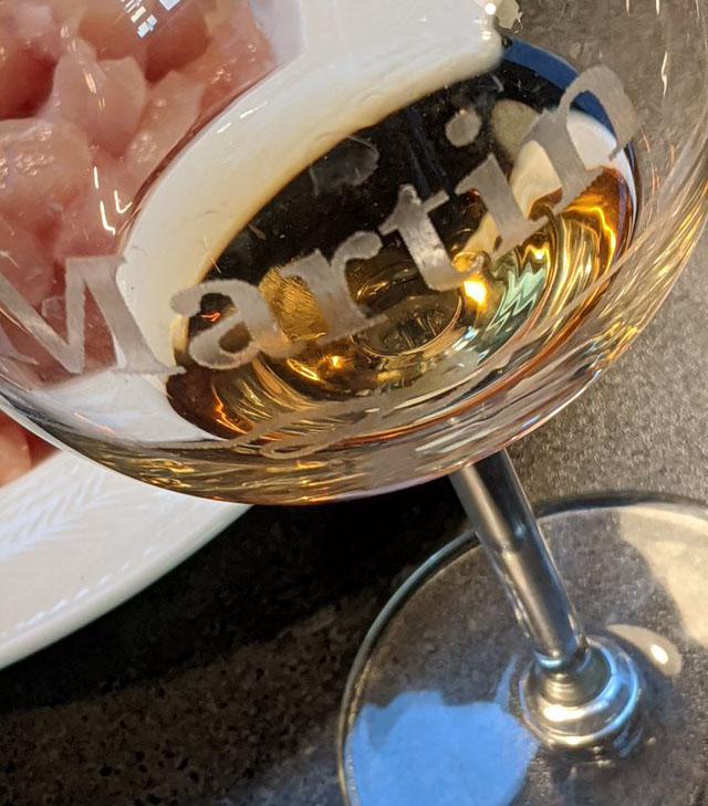 wijnglas met naam graveren - een gegraveerd wijnglas