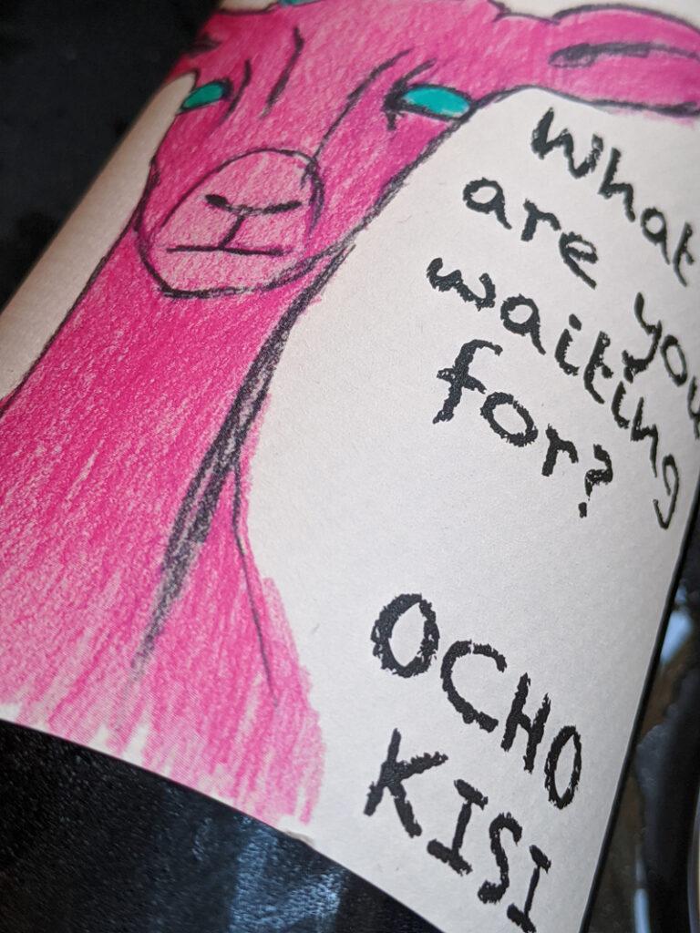 Ocho Unfiltered Kisi, een witte complexe Qvevri wijn