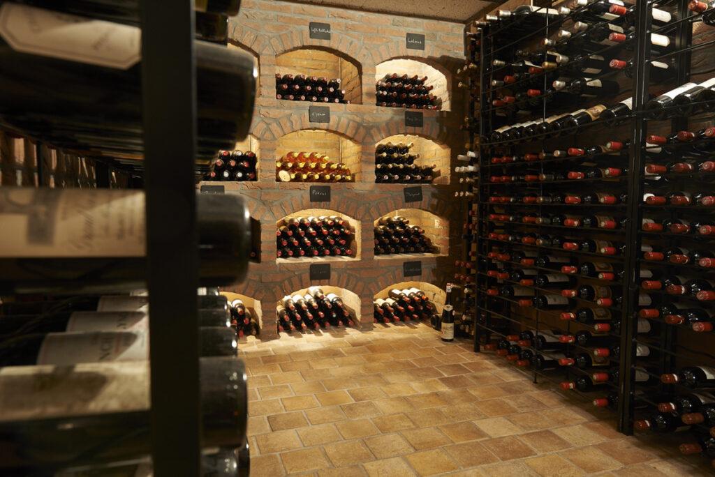 de mooiste wijnen verdienen de beste opslag