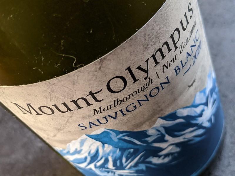 Mount Olympus Sauvignon Blanc, een hele goede keuze