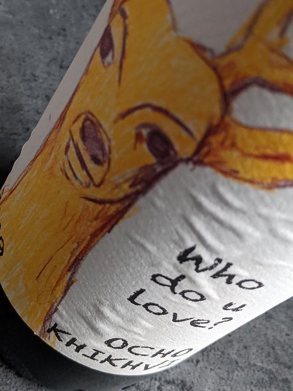 Ocho Khikhvi, een amber Qvevri wijn met klasse