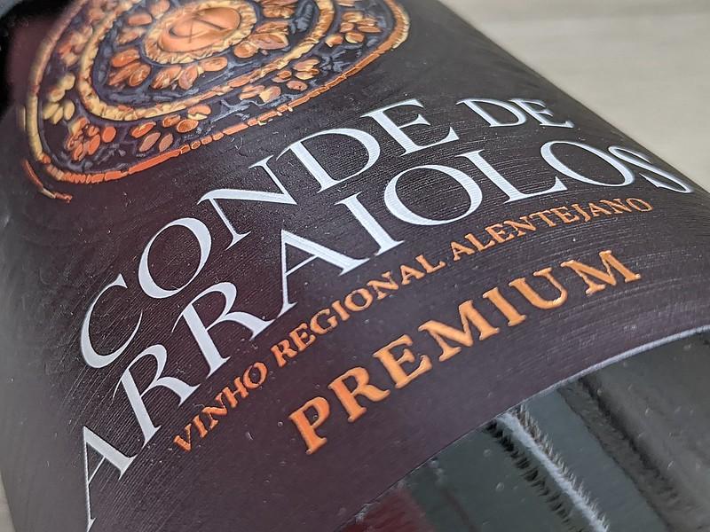 Conde de Araiolos Premium, de mooiste wijn uit Alentejo
