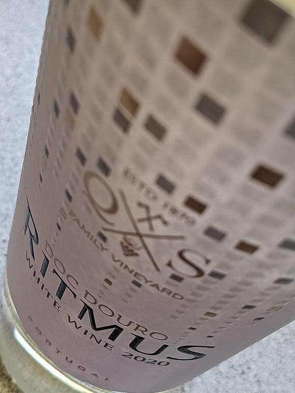 Ritmus branco, geraffineerde witte wijn uit de Douro vallei
