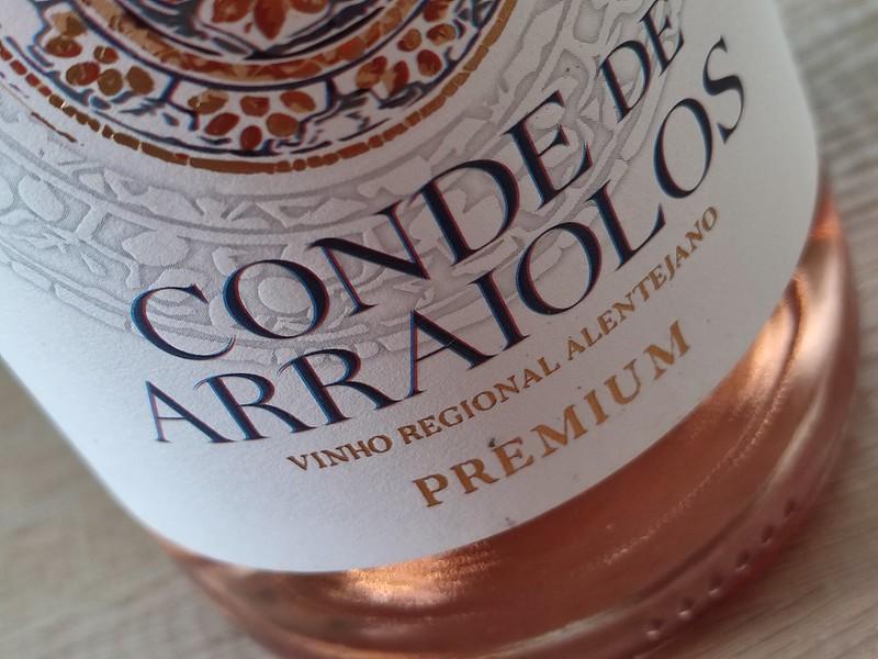 Conde de Arraiolos verrast mij steeds opnieuw. Al 2 prachtige rode wijnen heb ik mogen proeven van dit mooie wijnhuis. Nu is het tijd voor de rosé.