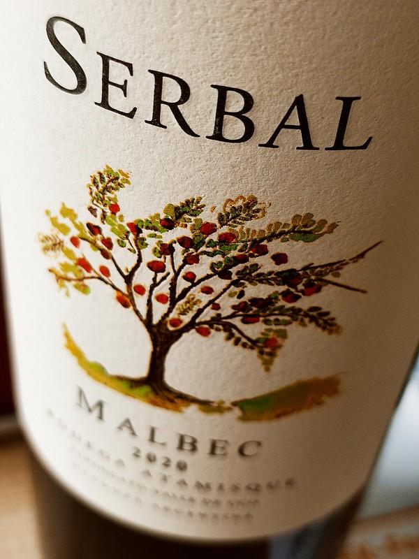 Serbal, een Malbec van grote hoogte en stijgt naar een medaille