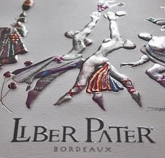 De DUURSTE Bordeauxwijn : Liber Pater