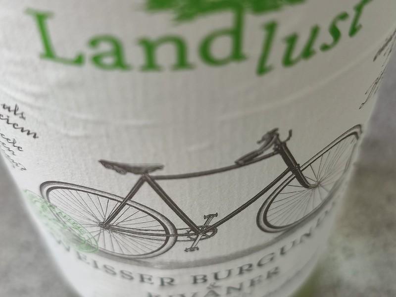 Landlust Weisser Burgunder met Rivaner, biologische frisheid uit Duitsland